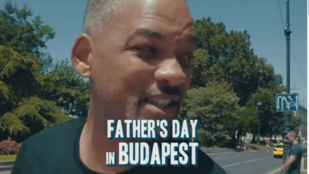Will Smith Budapesten készített apák napi videója elég menő