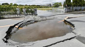 Erős földrengés rázta meg Oszakát
