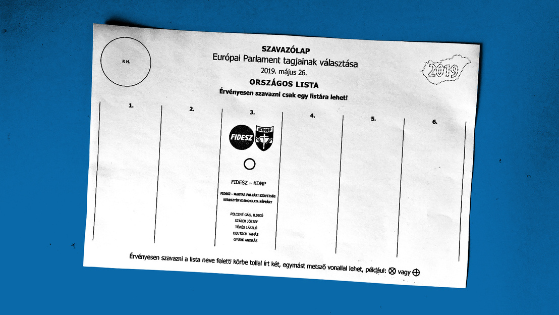 ep2018 europai unio parlament valasztas szavazolap fidesz