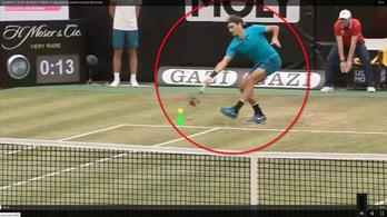 Federer 15 centin ütötte meg a torna pontját