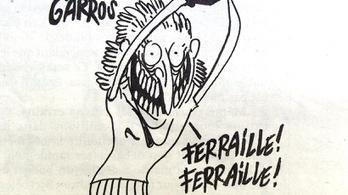 Beperelték a Charlie Hebdót, mert színesfémtolvajként ábrázolta a román teniszezőnőt