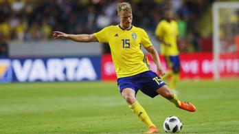 A videóbíró hozta a svédek sikerét