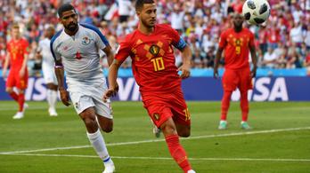 Belgium szépségdíjas gólokkal törte meg Panamát