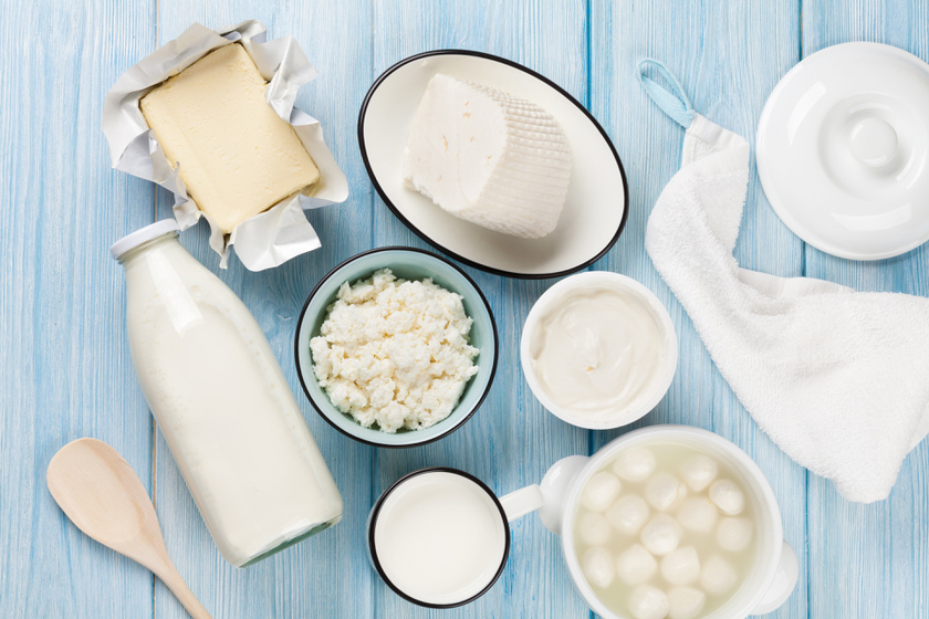 """""""Hároméves korától napi 0,5 liter tej vagy azzal egyenértékű tejtermék fogyasztása javasolt."""""""