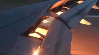 Levegőben gyulladt ki a szaúdi válogatott gépe, kényszerleszállást hajtottak végre