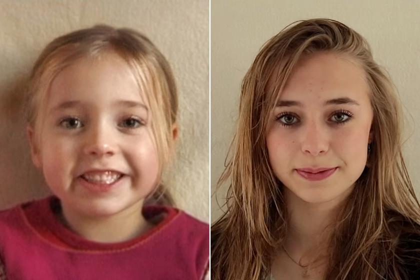 18 éven át kamerázta a lányát: így vált gyönyörű nővé az egykori kisbaba