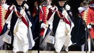 II. Erzsébet királynő ezüstcipőben folytatta a hagyományokat
