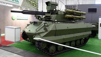 Csődtömeg az új orosz robottank