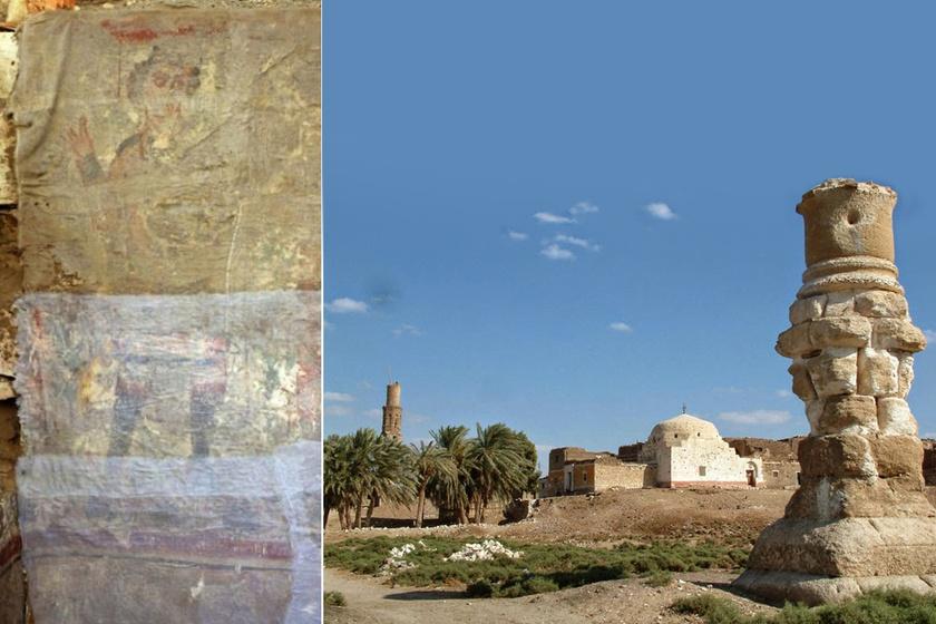 A legrégebbi Jézus-ábrázolás lehet - 6. századi falfestmény egy egyiptomi sírban