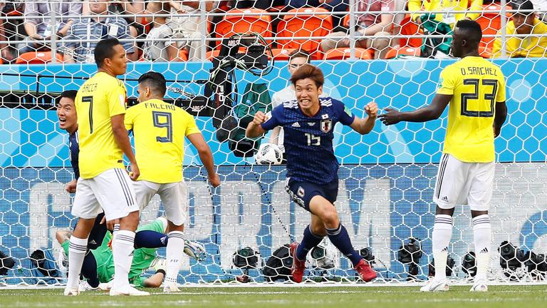 A vb első pirosa után Japán verte Kolumbiát