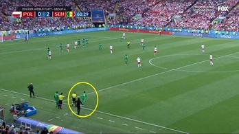 A semmiből jött a szenegáli Niang a második gólnál