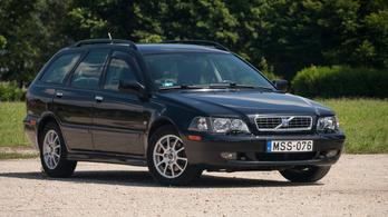 Használtteszt: Volvo V40 1.9D - 2002.