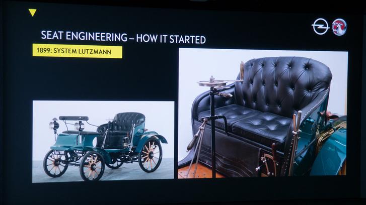 Tessék, már ezer éve tudnak ülést csinálni az Opelnél