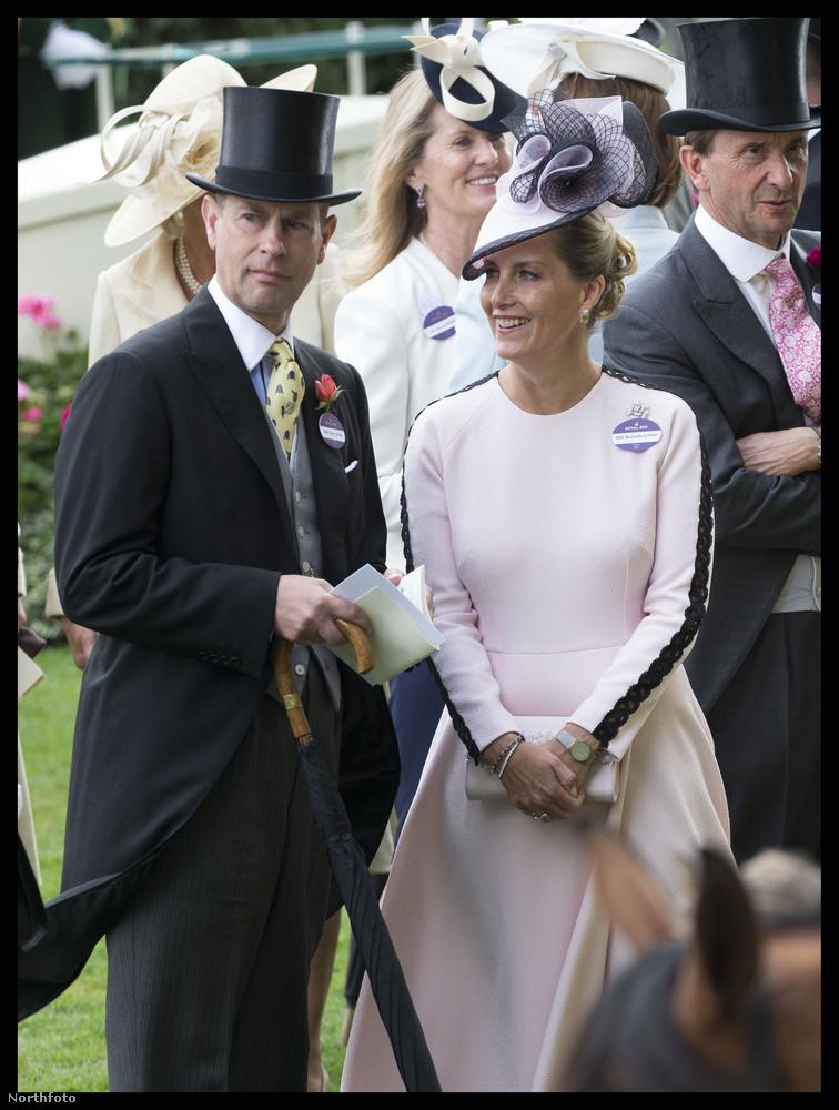 Wessex grófnője csak egy ilyen szolid darabot vállalt be.