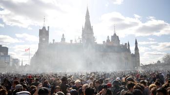Kanadában teljesen legális lett a marihuána