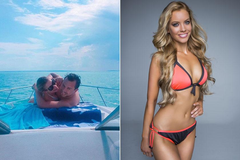 Nacsa Olivér és szerelme a Balatonnál romantikáztak. Somossy Barbara 2016-ban döntős volt a Magyarország Szépe választáson, akkor készült róla a bikinis fotó.