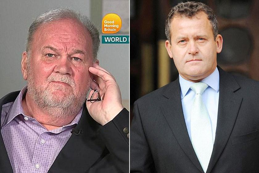 Diana volt inasa, Paul Burrell (jobbra) elmondta a véleményét Meghan apjának tévéinterjújáról.
