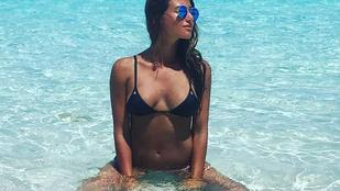 Bernando Silva kétdiplomás barátnője eléggé szeret bikiniben fotózkodni