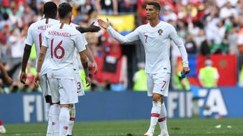 Ronaldo 2 meccs után 4 gólos, Portugália szenvedve nyert