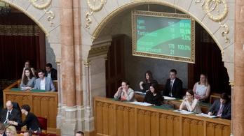 A Jobbik megszavazta a Fidesszel az alaptörvény módosítását