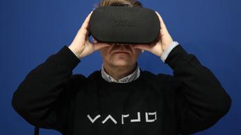 Ilyen felbontású VR szemüveg még sosem volt