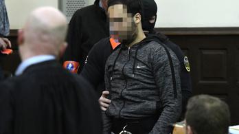 Vakbélgyulladással műtötték Salah Abdeslamot