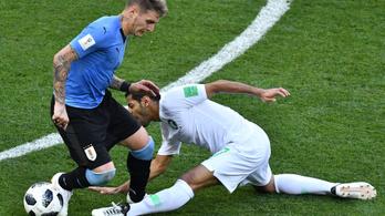 A szaúdi játékos vb-jébe kerülhetett a spárgázás