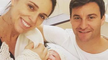 Megszületett az új-zélandi miniszterelnök gyereke