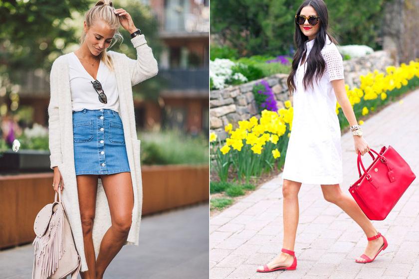 Így hordd a fehéret nyáron, hogy nőies és divatos legyen - Nem lesz sem unalmas, sem túl hivatalos