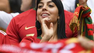 Cristiano Ronaldo barátnője a legcukibb szurkoló a futball vb-n
