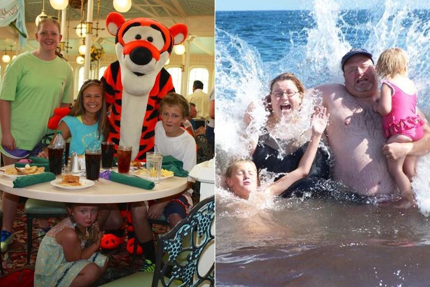 10 nyaralós családi fotó, amit jobb lenne nem mutogatni - Kínos, vicces és félresikerült képek