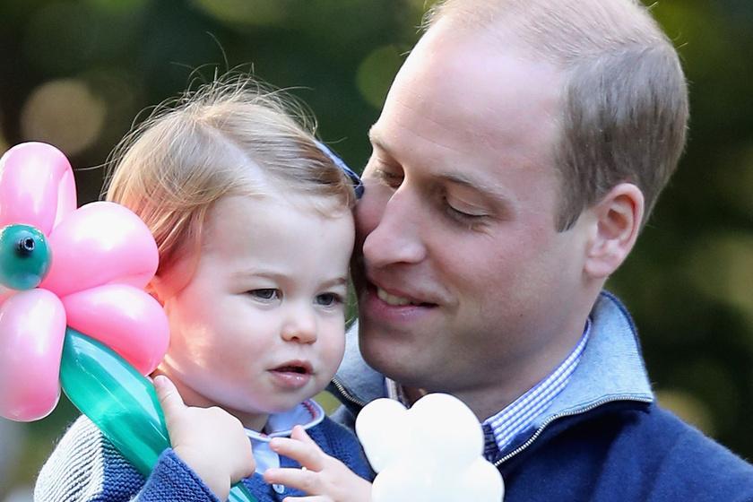Vilmos herceg kikotyogott egy titkot - Charlotte hercegnő már most tiszta anyja