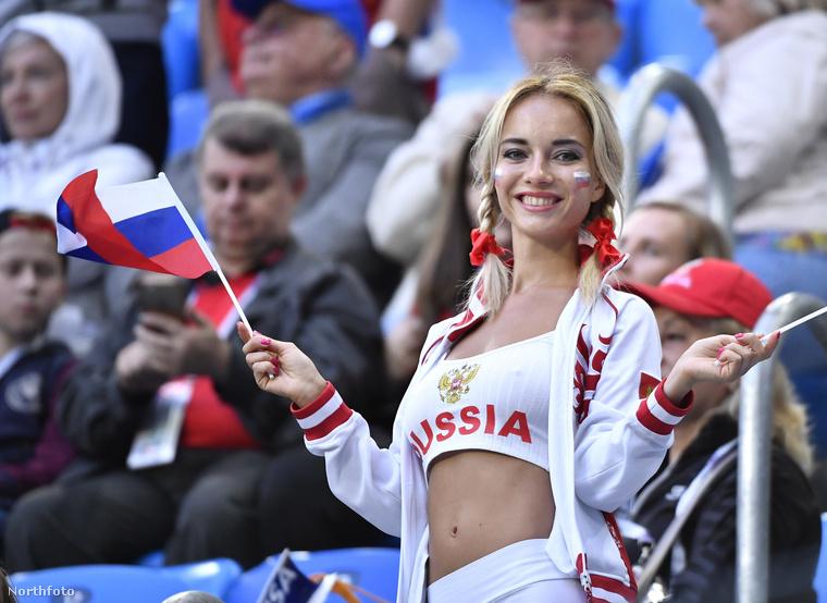Íme egy tipikus orosz drukker,