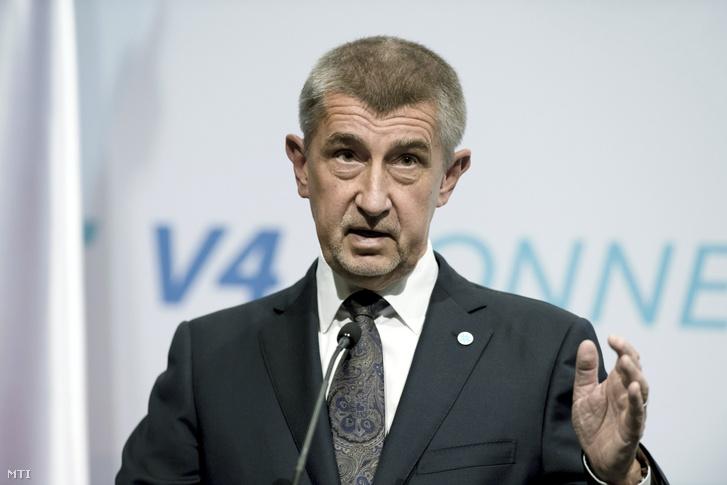 Andrej Babis cseh miniszterelnök