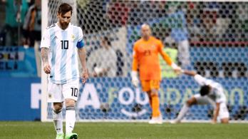 A horvátok megalázták, a szakadék szélére lökték Argentínát: 3-0