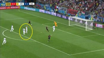 Messié volt a legjobb jegy a harmadik horvát gólnál