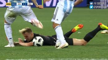 A legjobb argentin védőn 0-2-nél kijött az állatság