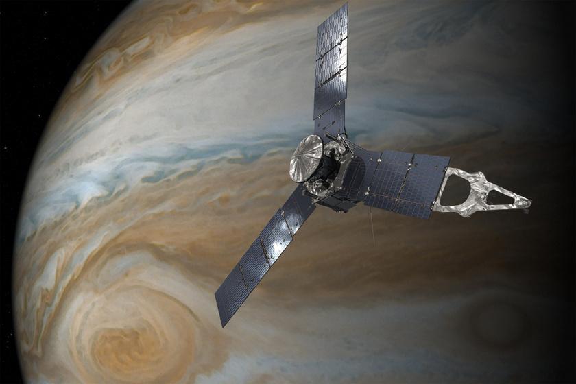 Bámulatos fotót küldött haza az űrszonda: hatalmas viharok dúlnak a bolygón