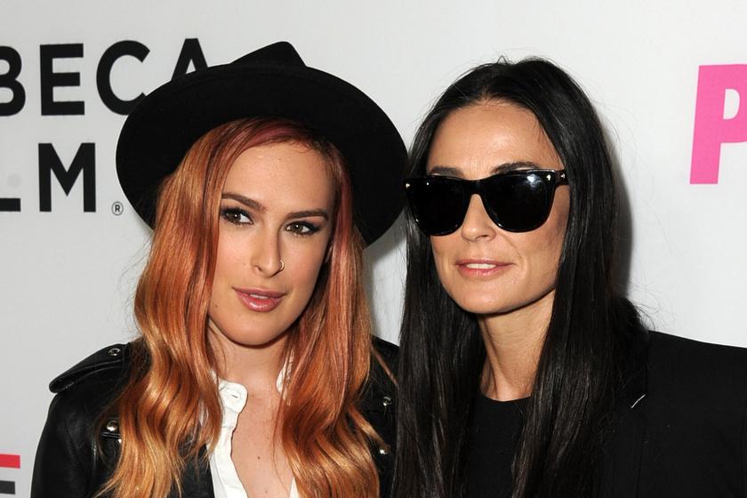 Mi történt Demi Moore lányával? Rumer Willis borzasztóan néz ki a friss fotóin