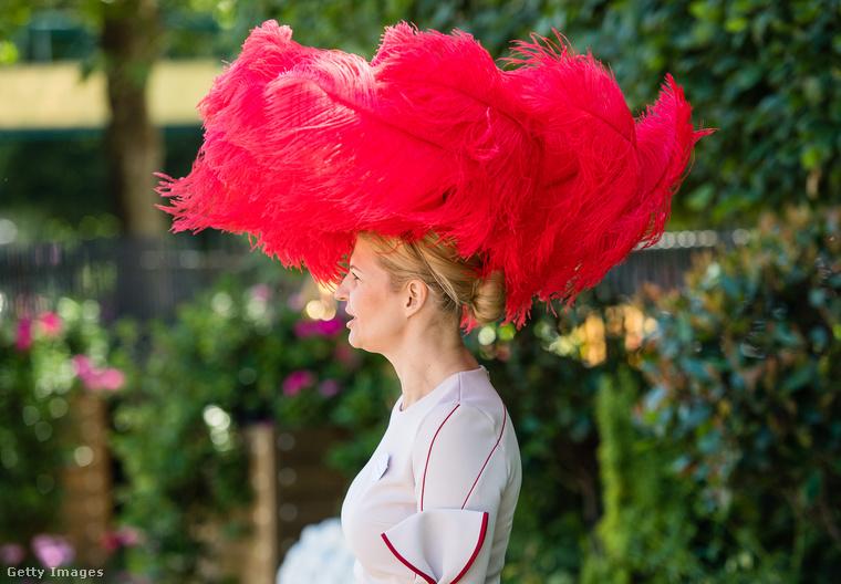 Nem igazán rajongunk azért, ha valaki szőrmét vagy tollat visel, de galériánkból akkor sem maradhatott ki ez a gigantikus kalap.