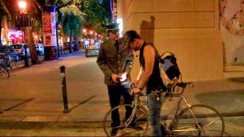 Egy valamit tudok, részegen biciklizni