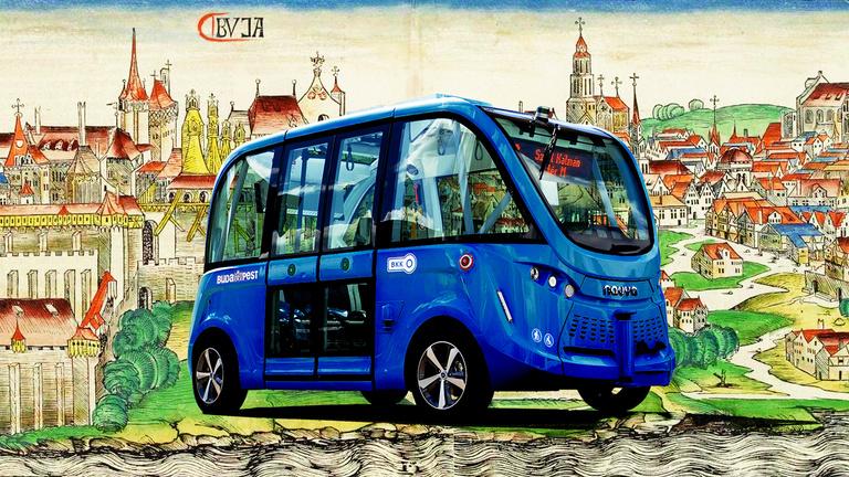 Mikor lesznek Budapesten robotbuszok?