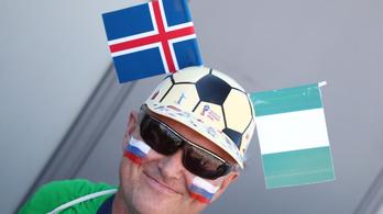 Nulla kapura lövés után, a második félidőben Nigéria legyőzte Izlandot