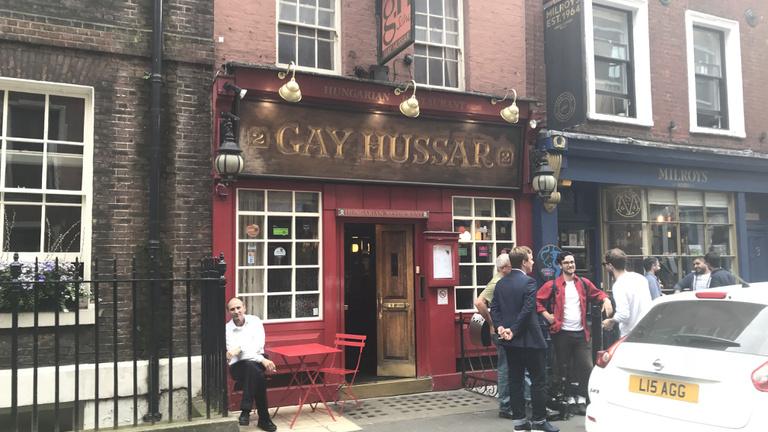 London magyar étterme nem a konyhája miatt kerül be a történelemkönyvekbe