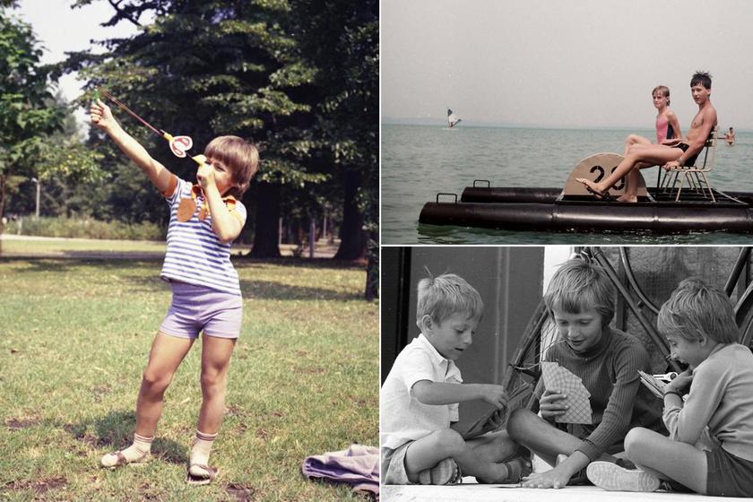 Vakáció a 70-es, 80-as években: egész más volt a nyári szünet, mint ma