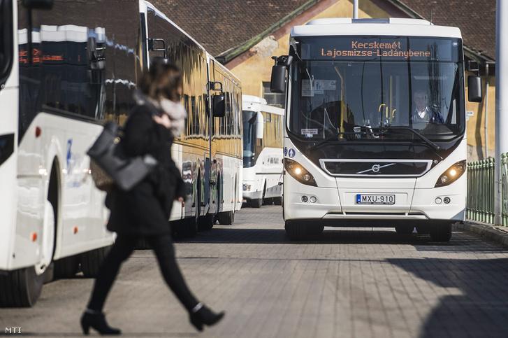 DAKK buszok Kecskeméten