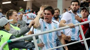 Letartóztatják és kiutasítják a horvátokra támadó argentin szurkolókat