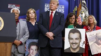 Trump olyanokat hívott meg, akiknek hozzátartozóját illegális bevándorló gyilkolta meg