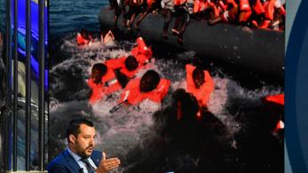 Soha többé nem engednének bevándorlókkal teli mentőhajókat az olasz kikötőkbe