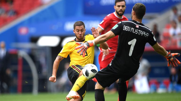 Belgium–Tunézia